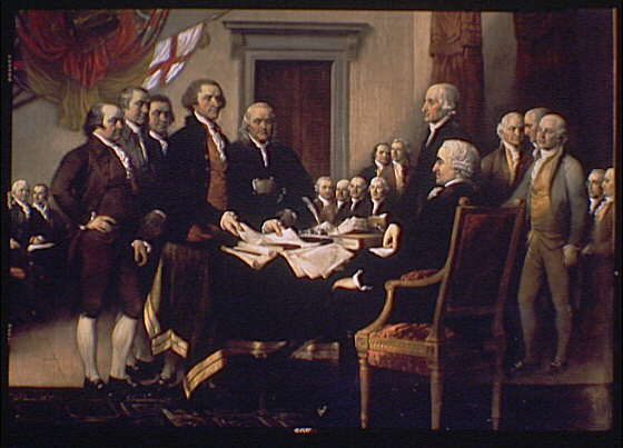 Signing of the Declaration of Independence « Kind of Red