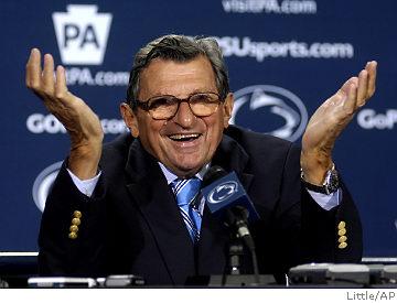Joe Paterno, Joe Pa, Nittany Lions, Penn State, Penn State scandal