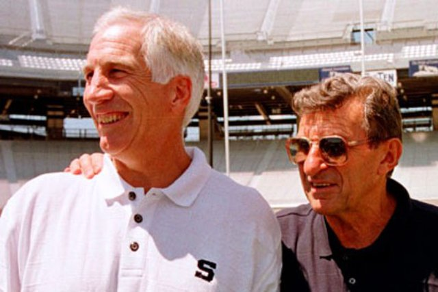 Joe Paterno, Joe Pa, Jerry Sandusky, Gerald A. Sandusky, Penn State
